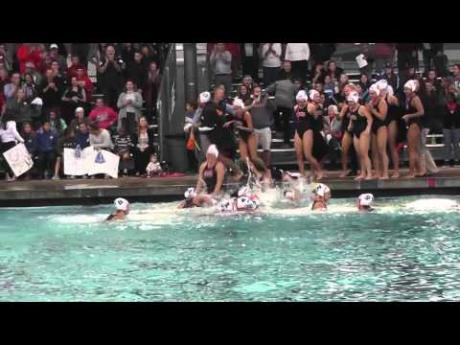 Water Polo Wins Section Championship over Davis