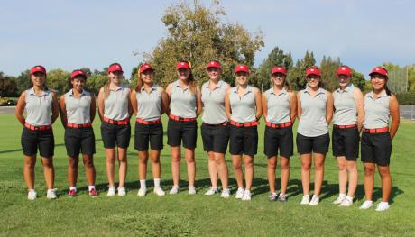 2015 St. Francis Varsity Golf: Front Row (L to R): Mikia Fang, Caitlin Autry, Lauren Liberatore, Kristi Lee, Patricia Sweeney, Lauren Allen, Leslie Young, Chase Saca, Kate Swanson, Adrienne Graybill, Olivia Alcoran. (Not pictured: Taylor Boe)