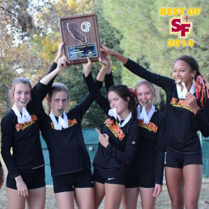 #BestofSF2014 Cross Country's Third-Place Finish at the State Meet
