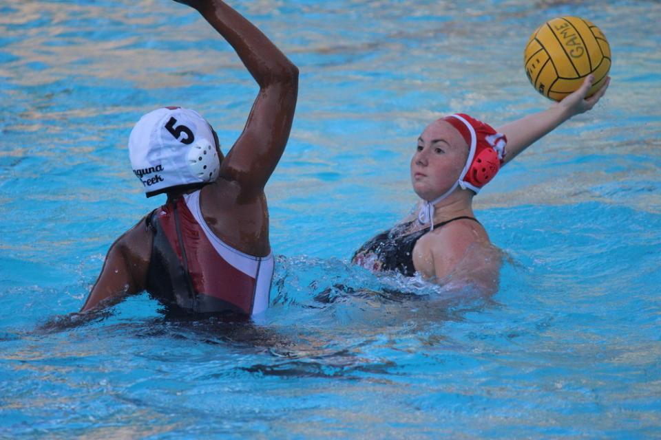 polo scores 18 in win over laguna creek st francis catholic high