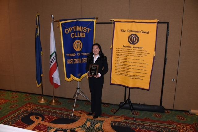 Olivia Fu - Optimist Speech Tournament 2016