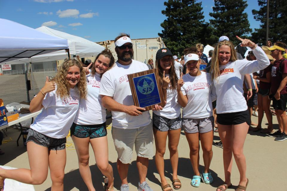 41411ffd8c The St. Francis varsity placed fourth overall with just four swimmers  scoring 93 points at the Sac-Joaquin Section Swimming Championships held at  Tokay High ...
