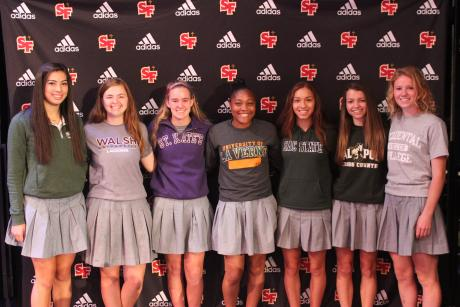 Seven student-athletes have signed or committed to plays sports at collegiate programs across the nation in conjunction with the third NCAA National Signing Day. Overall, St. Francis has 25 student-athletes from the class of 2016 playing sports in college this fall.