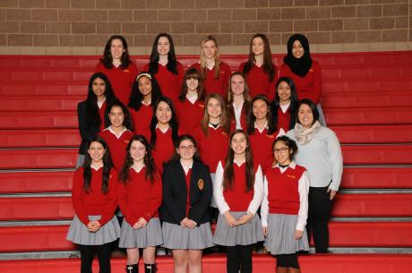 2015-2016 Mathletes team
