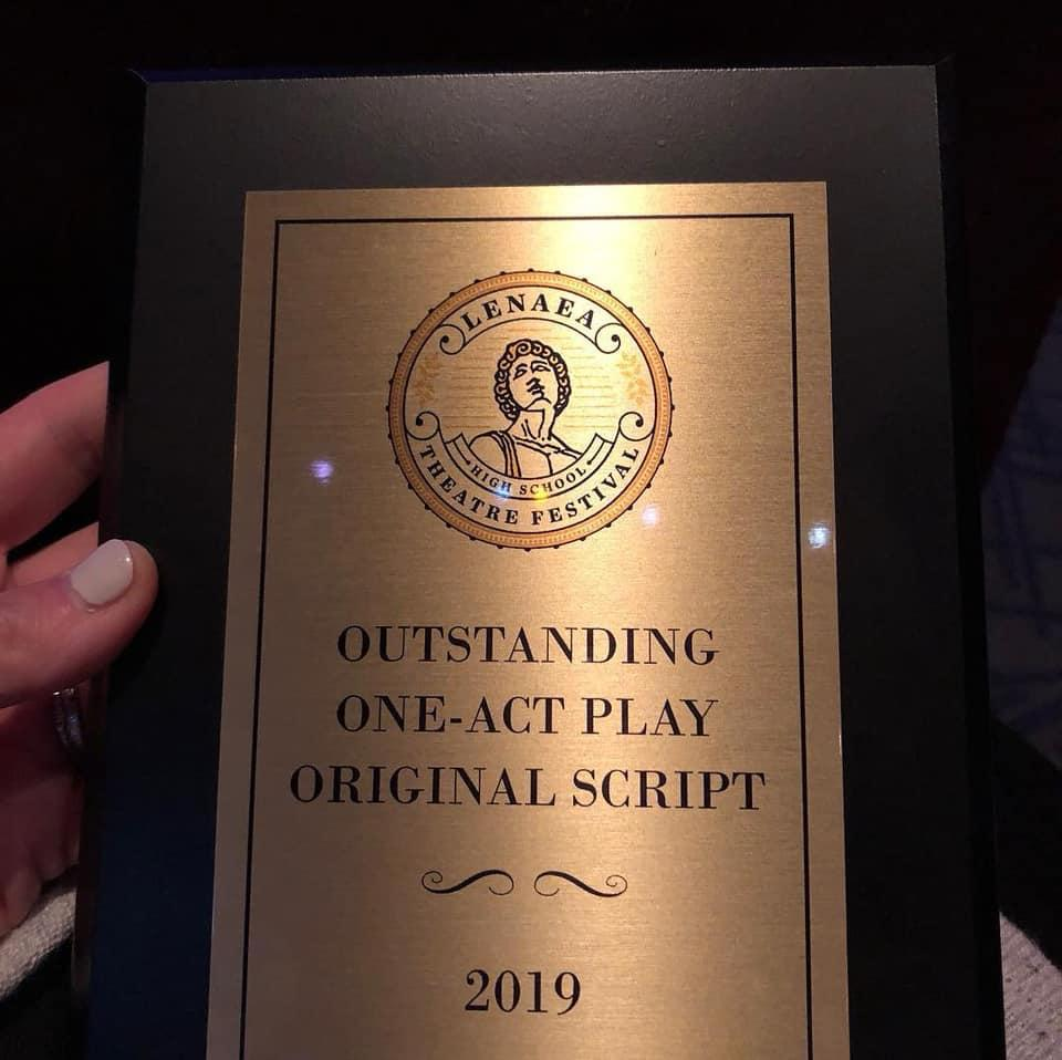 SFHS One Acts 'girl' take Gold! - St  Francis Catholic High School