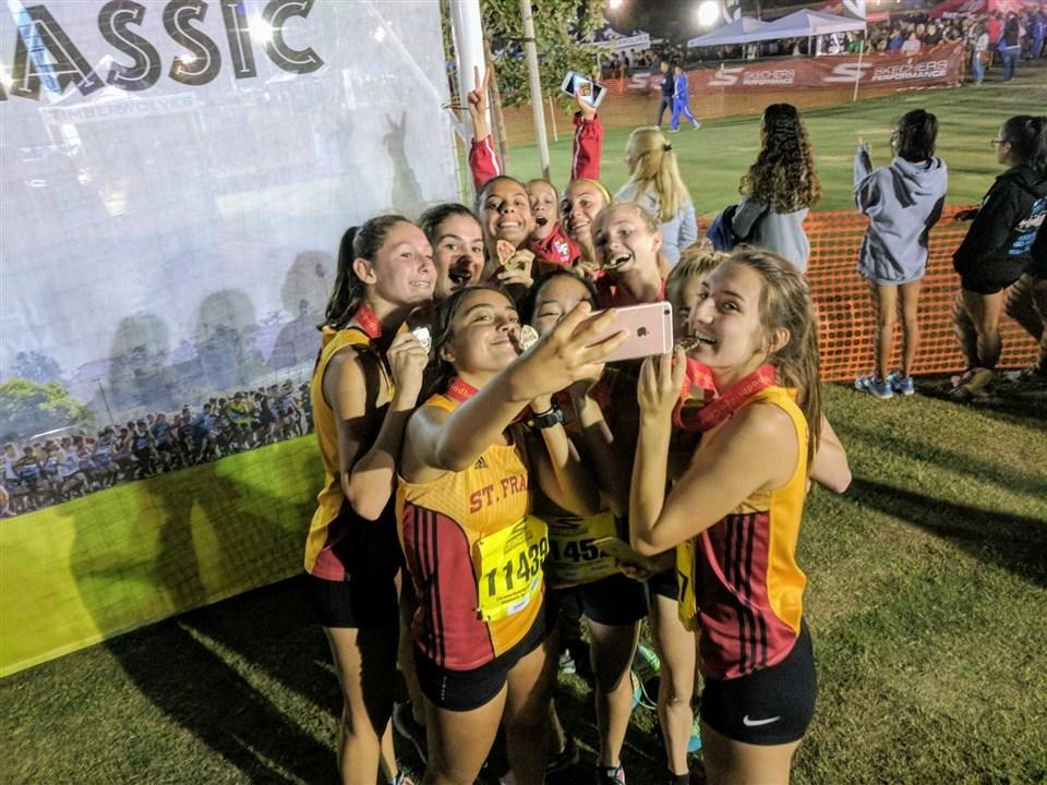 Cross Country Competes at Woodbridge Nike Invitationals St