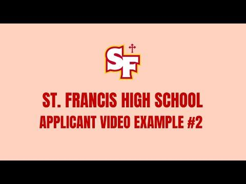 Applicant Introduction Video Example #2