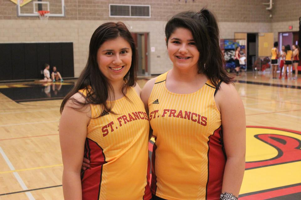 Nicole ('16) and Alex Freund ('18) are on the track and field team #NationalSiblingDay #TroubieTakeover