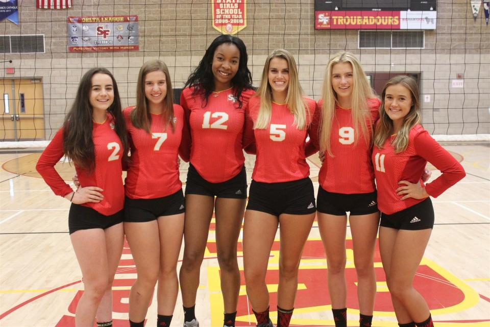 Volleyball - St  Francis Catholic High School