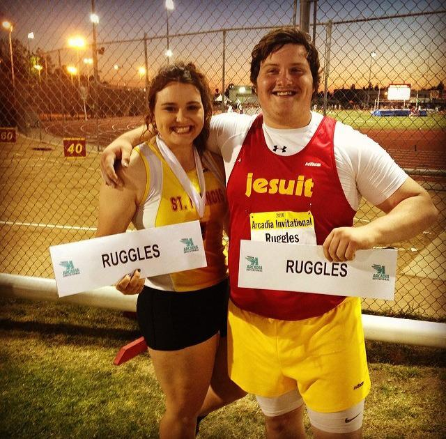 Sam Ruggles and her brother Chris #NationalSiblingDay