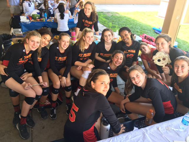 Volleyball Finishes Third at Chris Craft Invite - St  Francis