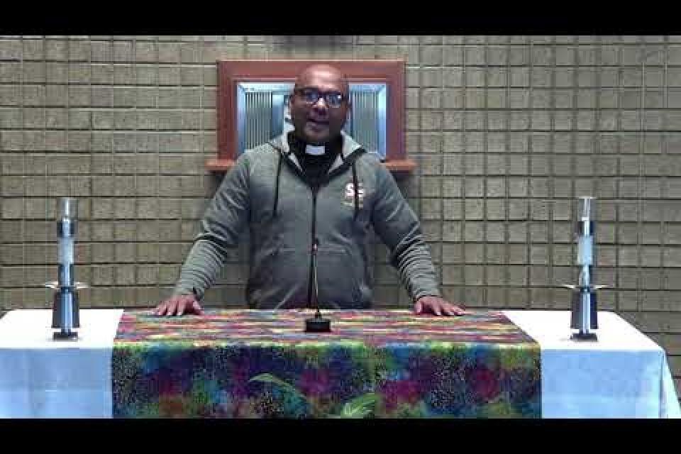 Liturgy Invitation from SFHS Chaplain, Fr. Joseph Sebastian, CMI