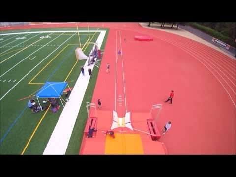 Ladd Breaks Pole Vault Mark Again at Easter Invite