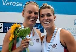 On Saturday, the United States women's pair, featuring Nowinski in the bow-seat, took home the silver in the A final. The U.S. finished the course in 7:15.84, behind gold medalist New Zealand's time of 7:02.89.