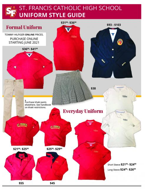 Everyday Uniform Guidelines